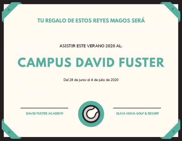vale regalo de Reyes Campus